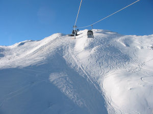 Gipfelbahn 2175m Seehöhe