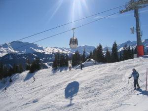 Skifahren bei Traumwetter