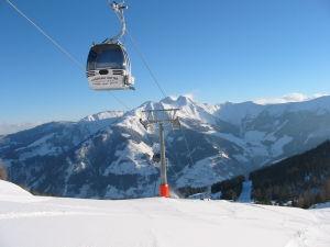 Hutter Gondel bringt sie auf 2175m Höhe