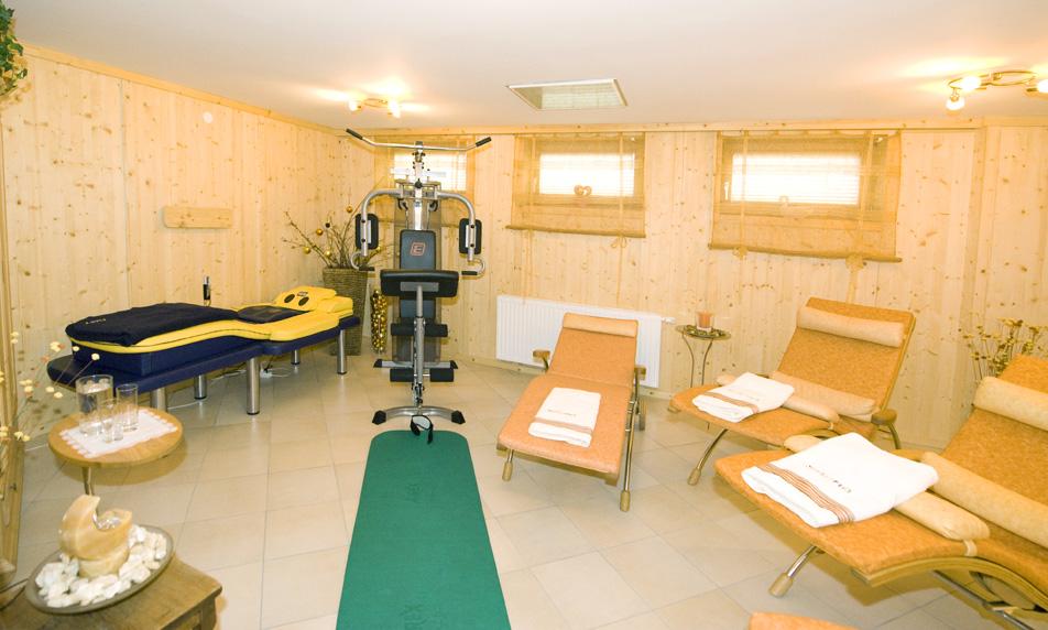 Entspannungs- und Fitnessbereich